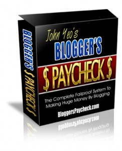 bloggers paycheck review